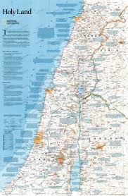 holy land map  asia countries maps  asia  wall maps
