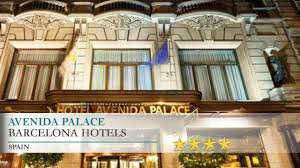 Hotel Avenida Palace Avenida Palace Barcelona Hotels Spain Youtube