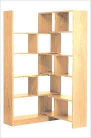 Oak Floating Corner Shelves