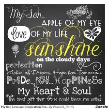 Love My Son Quotes Impressive Inspirational Quotes About Sons I Love My Son Quotes Inspirational