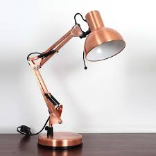 desk lighting solutions. Fashioned In A Contemporary Metallic Copper Shade, This Durable Dome Head Shaped Desk Lamp Is The Perfect Lighting Solution For Your Home Office. Solutions I