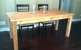 build dining room table. Diy Dining Table Bench Build A Room  Wood