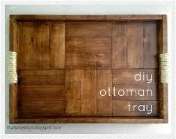 Storage Ottoman Plans Thats My Letter Diy Ottoman Tray