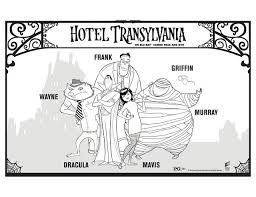 hotel transylvania coloring pages hotel transylvania group free printable coloring pages