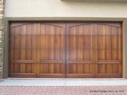 clear garage doorsFull Custom Wood Garage Doors CA Garage Door Installation Costa Mesa