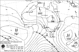 Australian Weather News 16 Jan 2004