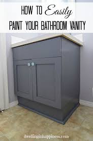 painting bathroom vanity before and after. have (or would!) you painted your bathroom vanity before? do any other tips on what worked well for you? painting before and after