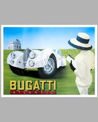 Shop our bugatti poster selection from the world's finest dealers on 1stdibs. Bugatti Atlantic Large Poster By Razzia L Art Et L Automobile