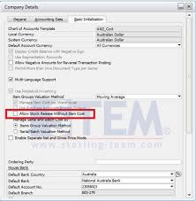 Sap Stock Chart Sap_businessone_tips Stem Allow Stock Release Without Item