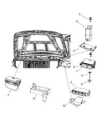 2008 jeep liberty modules engine partment