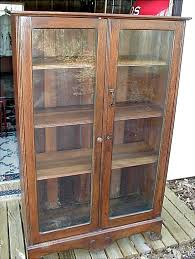 glass front bookcase glass front bookcase perfect wood bookcases