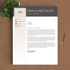 creative resume template the amelia landed design solutions creative resume template the amelia perfect resume templates 4