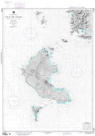 Details About Nga Nautical Chart 21583 Isla De Coiba South Coast Of Panama