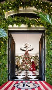 see kris jenner s home decked out for christmas photos