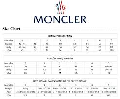 Moncler Kids Size Chart Where To Buy Moncler Jacket Sizing Xs F6584 74b7c
