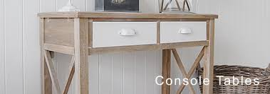 hallway console table. The White Lighthouse Console Tables, A Table Available With Drawers Hallway