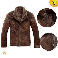fur lined leather jacket mens cwmalls com