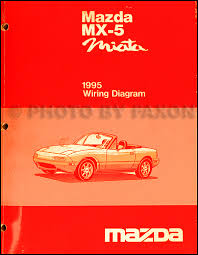 1995 mazda mx 5 miata electrical wiring diagram original 1995 mazda mx 5 miata repair manual original