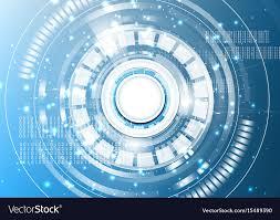 Light Digital Technological Digital Abstract Modern Light Spot