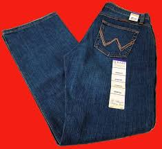 Details About Womens Wrangler Q Baby Mid Rise Boot Cut Tuff Buck Jeans Wrq20tb Choose Size