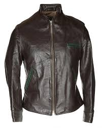 40s brown horsehide leather jacket s