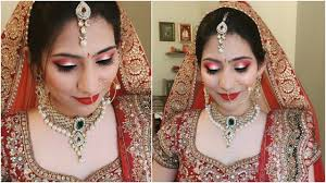 using 10 s indian bridal makeup tutorial in hindi anaysa