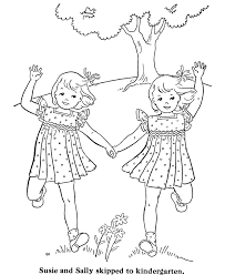 Small Picture Surprising Little Girl Coloring Pages Little Girl Coloring Pages