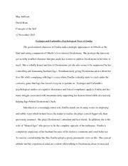 concepts of the self self portrait essay dillon deloge concepts  6 pages concepts of the self othello essay