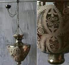 mercury glass chandelier shades florian 26 5 light next