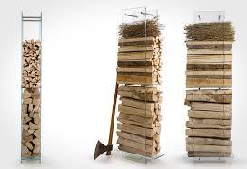 indoor fireplace wood holder