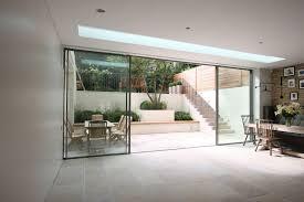 minimal windows as modern patio doors in london