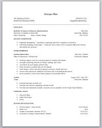 High School Student Resume Examples No Work Experience College