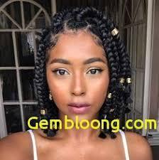 Coiffure Africaine Femme 2019