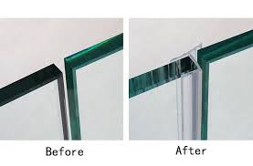 frameless shower door seal strip silicone sweep for