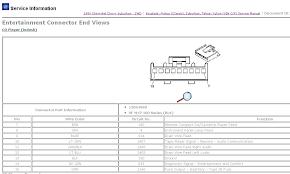 1999 gm radio wiring diagram gmc diagrams for diy car repairs