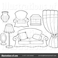 furniture set clipart black and white. pin chair clipart bedroom furniture #5 set black and white e