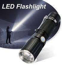 Đèn Pin Cầm Tay 200000 Lumens Với 4 Chế Độ Điều Chỉnh Góc Độ