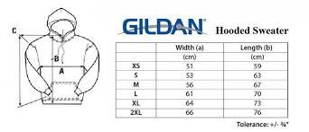 Hoodie Unisex Size Chart Gildan Size Chart The Odyssey Bookshop