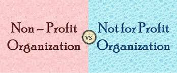 Non Profit Comparison Chart Difference Between Nonprofit And Not For Profit Organization