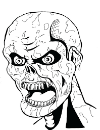 Zombie Coloring Pages Klubfogyas