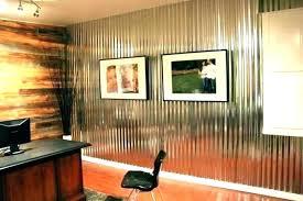 corrugated metal interior walls garage corrugated metal panels interior walls
