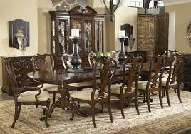 Elegant dining room sets Contemporary Captivating Formaldiningroomsetswithbuffet And Ceiling Light For Gaing Kitchen Dining Sets Chic Formal Dining Room Sets With Buffet And