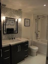 bathroom and kitchen tile. tile backsplash behind vanity.mirror and hanging pendant lights . it\u0027s a beautiful bathroom, but no links to the type of tile, frame around mirror bathroom kitchen h