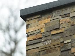 stack stone panels stacked stone wall