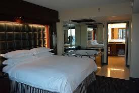 elara las vegas 1 bedroom suite. elara by hilton grand vacations: master bedroom with jacuzzi in 1 suite las vegas t