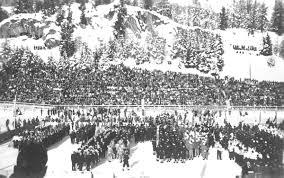 Санкт Мориц История Олимпийских игр Церемония открытия зимних Олимпийских игр 1948 года