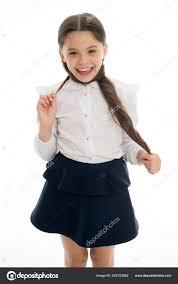 Vaše Vlasy čeká Celé Léto Pro Tuto Chvíli školačka žák Dlouhé