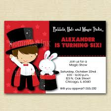 invitation wording for magic party refrence magician birthday invitations gv04 advancedmagebysara
