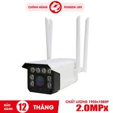Chỉ 440,100đ Camera Wifi giám sát IP - DK200,wifi ngoài trời - Độ Phân Giải  2.0Mpx Full HD. Có Màu Ban Đêmi. BH 1 năm