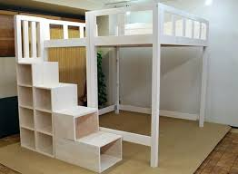 loft bed plans with stairs octeesco